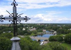 Vaizdas iš bažnyčios bokšto