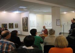 """2012 10 15 - Išskirtinis susitikimas su Kęstučiu Marčiulynu Bo Haeng, knygos """"Laiškai iš Drakono kalnų"""" autoriumi"""