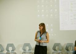 Projekto sumanytoja ir kuratorė Simona Gudaitė