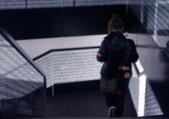 Anykščių bibliotekos interjeras