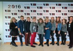 Jolanta Pupkienė ir Dijana Petrokaitė su festivalio svečiais