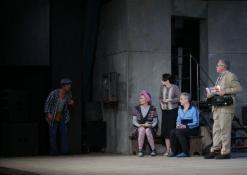 Aktoriai: A.Gradauskas, R. Valiūkaitė, E. Gudavičiūtė, A. Dainavičius, R. Bagdzevičius