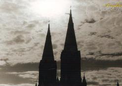 Anykščių Šv. apaštalo evangelisto Mato bažnyčios bokštai