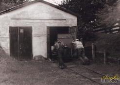 Geležinkelio stoties garažai