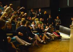 Antano Vienuolio mokyklos mokyniai