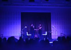Aktoriai - dainininkai: Evelina Lozdovskaja ir Simas Buziliauskas