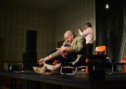 Aktoriai Linas Pauliukas, Jonas Buziliauskas