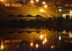 Anykščiai - Naktinis miestas