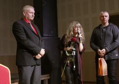 Sveikina Troškūnų kultūros centro vadovė Jolanta Pupkienė