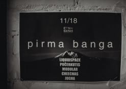 """2017 11 18 - Alternatyvios muzikos naktis """"Pirma banga"""""""