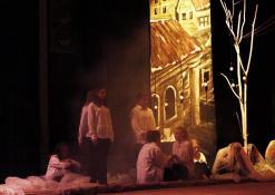 """2017 12 01 - Troškūnų vaikų ir jaunimo teatro studijos """"Mes"""" spektaklis """"Vienos nakties istorija"""""""