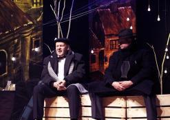 Aktoriai Jonas Buziliauskas ir Žilvinas Pranas Smalskas