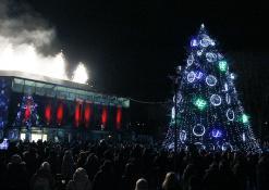 2017 12 01 - Kalėdinės eglutės įžiebimas