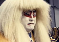 2018 02 13 - Japoniškų šokių, tradicinio teatro grimo ir kimono pristatymas