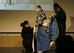 Takamasa Fudžima su savo padėjėjais