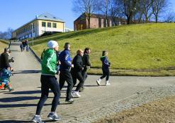 Bėgimas su Naujų vėjų bendruomene