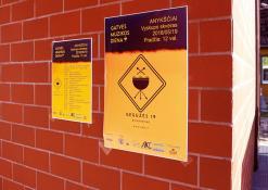 Renginio plakatai