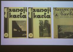 Izidoriaus Girčio fotografijos žurnalų viršeliuose