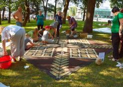 Mitkaičių kaimo bendruomenės floristinis kilimas