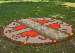 Viešintų kaimo bendruomenės floristinis kilimas