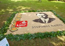 LSDP Anykščių rajono skyriaus floristinis kilimas