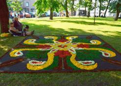 Troškūnų bendruomenės floristinis kilimas