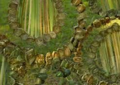 Anykščių socialinės globos namų floristinio kilimo fragmentas