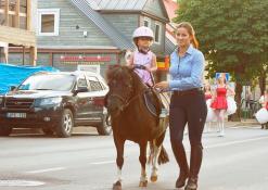 Arkliukas ponis ir mažoji jojikė