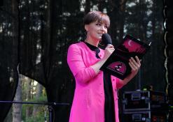 Koncerto vedėja Raminta Naujenytė – Bjelle