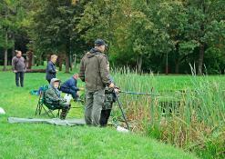 Šeimų žvejybos varžybos