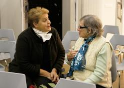 Elvyra Pažemeckaitė bendrauja su Valdo Papievio mama