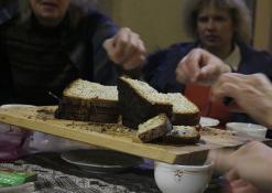 Pyragas iš fermentuotos giros