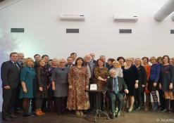 Vladas Braziūnas su draugais ir kolegomis
