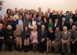 Bibliografininkai ir bibliotekininkai su kolegomis