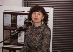 Krašto dokumentų ir kraštotyros skyriaus vyr. bibliotekininkė Birutė Venteraitienė