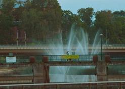 Miesto fontanai - Liepos mėnuo