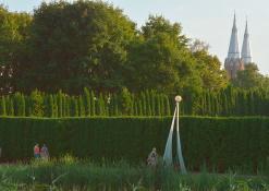 Anykščių miesto parkas - Liepos mėnuo