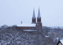 Žiema Anykščiuose