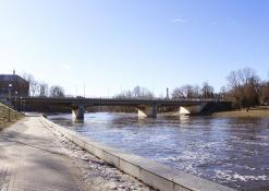 A. Baranausko tiltas per Šventosios upę