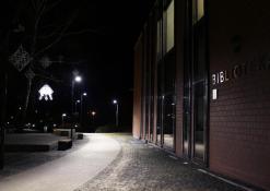 Anykščių L. ir S. Didžiulių viešoji biblioteka - Žiemos vakaras