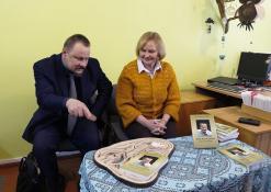 Sigutis Obelevičius ir Aldona Dudonytė-Širvinskienė