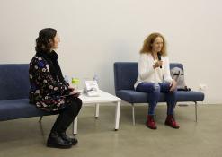 """2019 03 20 - Evos Tombak knygos """"Minčių žvėrynas"""" pristatymas Anykščiuose"""