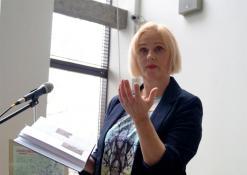 2019 04 10 - Susitikimas su žurnaliste Rūta Janutiene ir knygos pristatymas
