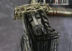 Rūpintojėlis - Medinė skulptūra