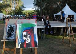 Festivalio lankytojų kūryba