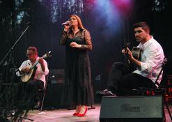 Pedro Amendoeira,Celia Leiria ir Joao Filipe