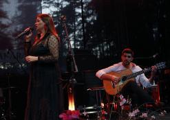 Celia Leiria ir gitaristas Joao Filipe
