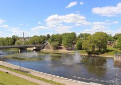 Gegužės 25 diena - Šventosios upė