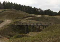 Balandžio 5 diena - Vorutos piliakalnio tiltelis