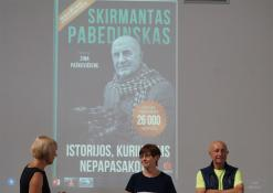 2020 07 02 - Skirmanto Pabedinsko knygos pristatymas